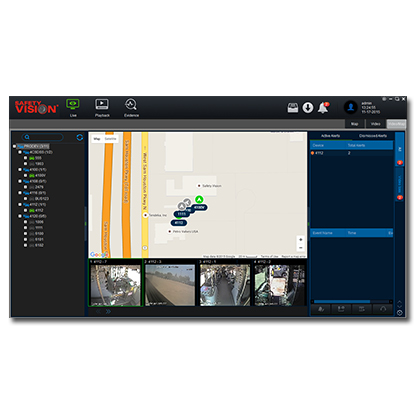 Video Management and Fleet Tracking