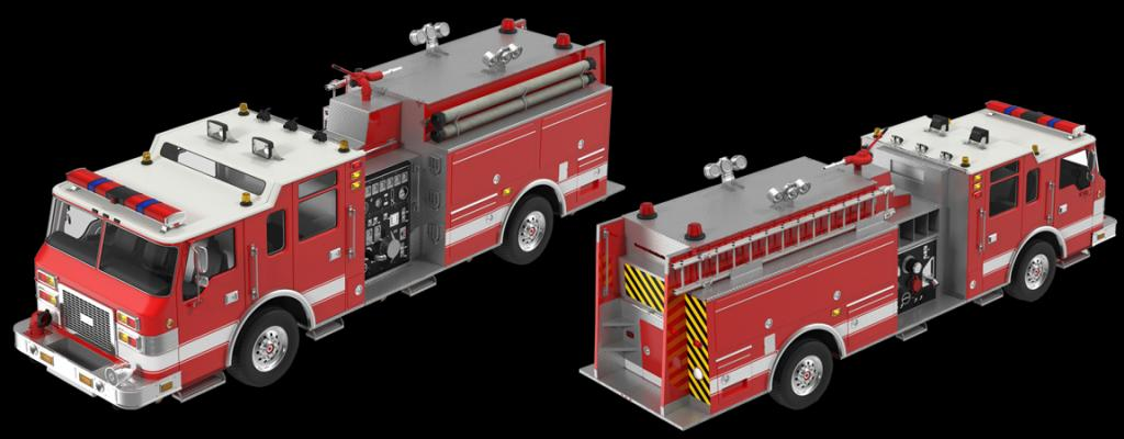 Fire Truck Cameras and Video