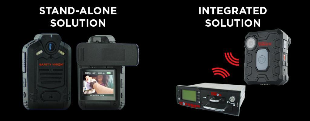 body worn camera, in-car surveillance